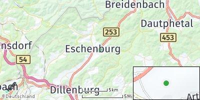 Google Map of Eschenburg
