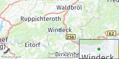 Google Map of Windeck