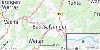 Google Map of Bad Salzungen