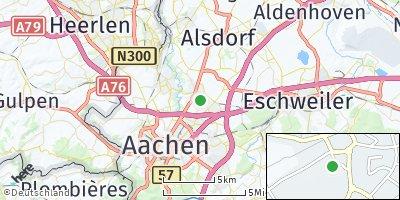 Google Map of Würselen