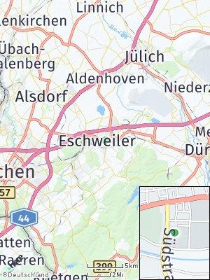 Here Map of Eschweiler