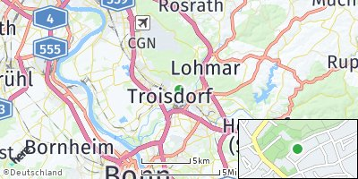 Google Map of Troisdorf