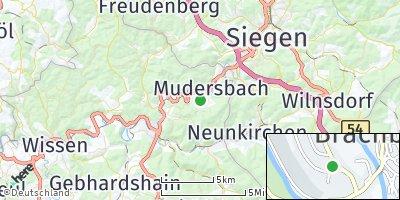 Google Map of Brachbach