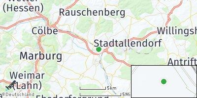 Google Map of Kirchhain