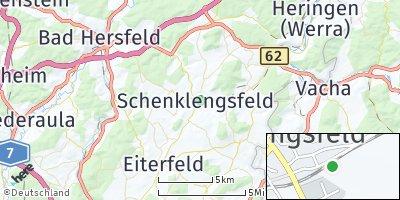 Google Map of Schenklengsfeld