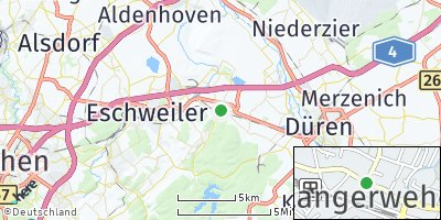Google Map of Langerwehe