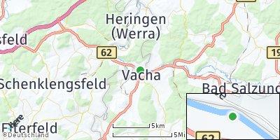 Google Map of Vacha