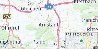 Google Map of Arnstadt