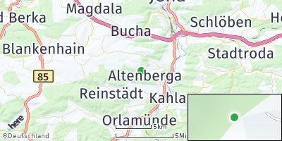 Google Map of Altenberga