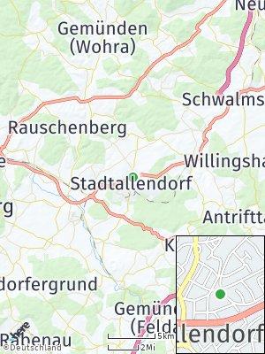 Here Map of Stadtallendorf