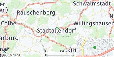 Google Map of Stadtallendorf