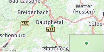 Google Map of Dautphetal