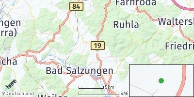 Google Map of Moorgrund