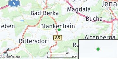 Google Map of Blankenhain