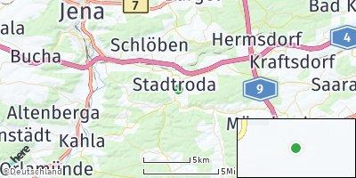 Google Map of Stadtroda