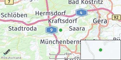 Google Map of Sankt Gangloff