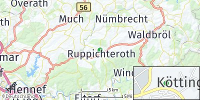 Google Map of Ruppichteroth