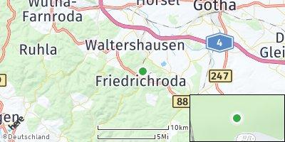 Google Map of Friedrichroda