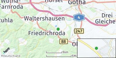 Google Map of Ernstroda