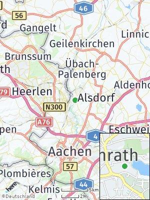 Here Map of Herzogenrath