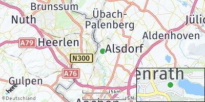 Google Map of Herzogenrath