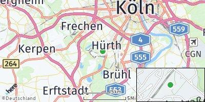 Google Map of Hürth