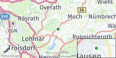 Google Map of Neunkirchen-Seelscheid