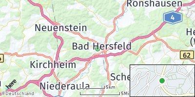 Google Map of Bad Hersfeld