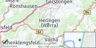 Google Map of Heringen