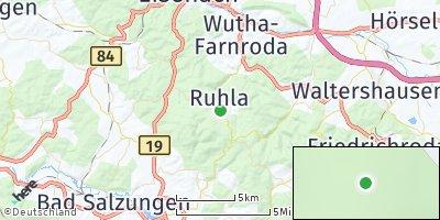 Google Map of Ruhla