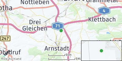 Google Map of Ichtershausen