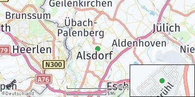 Google Map of Alsdorf