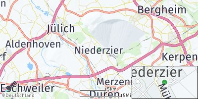 Google Map of Niederzier