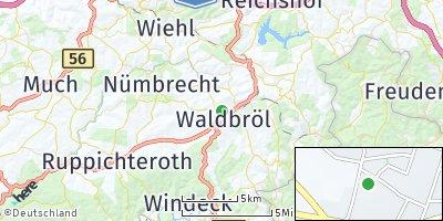 Google Map of Waldbröl