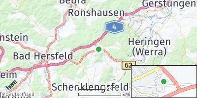 Google Map of Friedewald