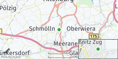 Google Map of Gößnitz