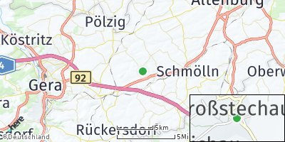 Google Map of Löbichau