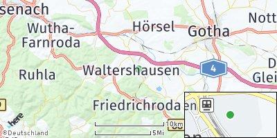 Google Map of Waltershausen