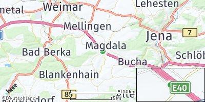 Google Map of Magdala