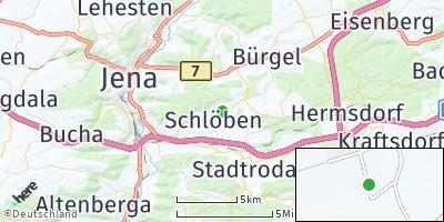 Google Map of Schlöben