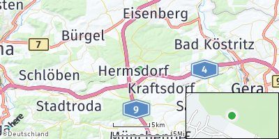 Google Map of Hermsdorf