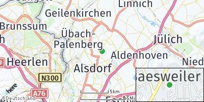 Google Map of Baesweiler