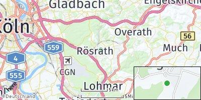 Google Map of Rösrath