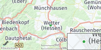 Google Map of Wetter