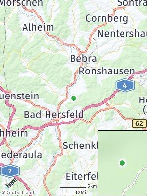 Here Map of Ludwigsau