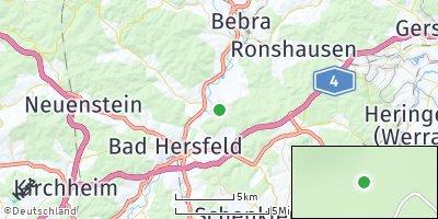 Google Map of Ludwigsau