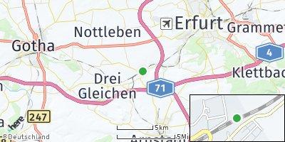 Google Map of Neudietendorf