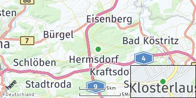 Google Map of Bad Klosterlausnitz