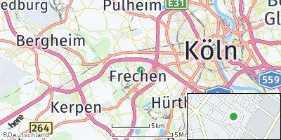 Google Map of Frechen