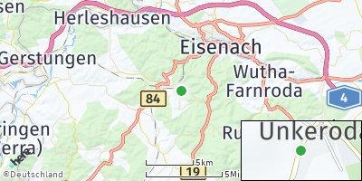 Google Map of Wolfsburg-Unkeroda